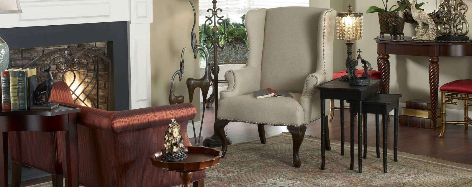 Furniture & Decor - Carts - End Tables - Vases - Photo Picture Frames