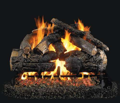 "R.H. Peterson PN-24 Standard 24"" Pioneer Oak. Logs Only (does not include burner). For use in wood burning fireplaces with a compatible vented gas log burner only."