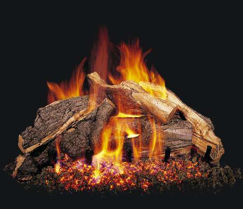 "R.H. Peterson WS-30 Standard 30"" Woodstack. Logs Only (does not include burner). For use in wood burning fireplaces with a compatible vented gas log burner only."