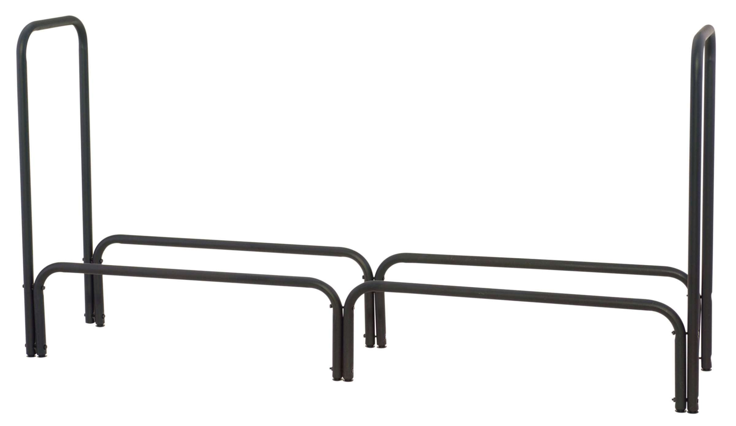 "Uniflame W-1560 Black 60"" Long Log Rack"