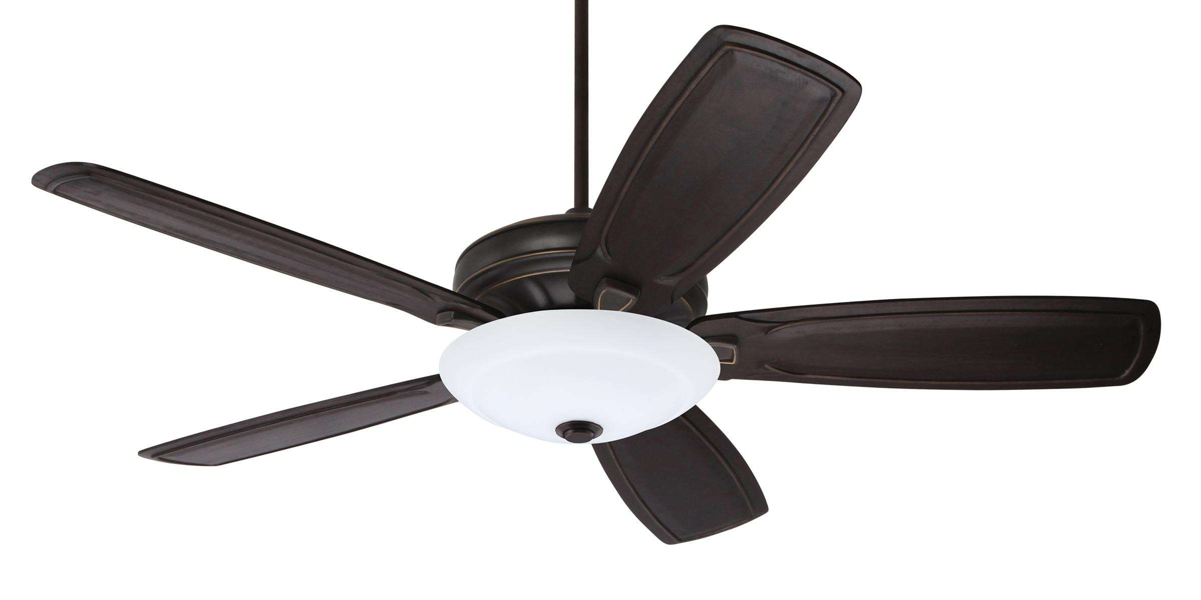 Emerson Carrera Grande Eco 60 (DC Motor) Ceiling Fan Model CF788GES-B90VBL-LK180GES in Golden Espresso