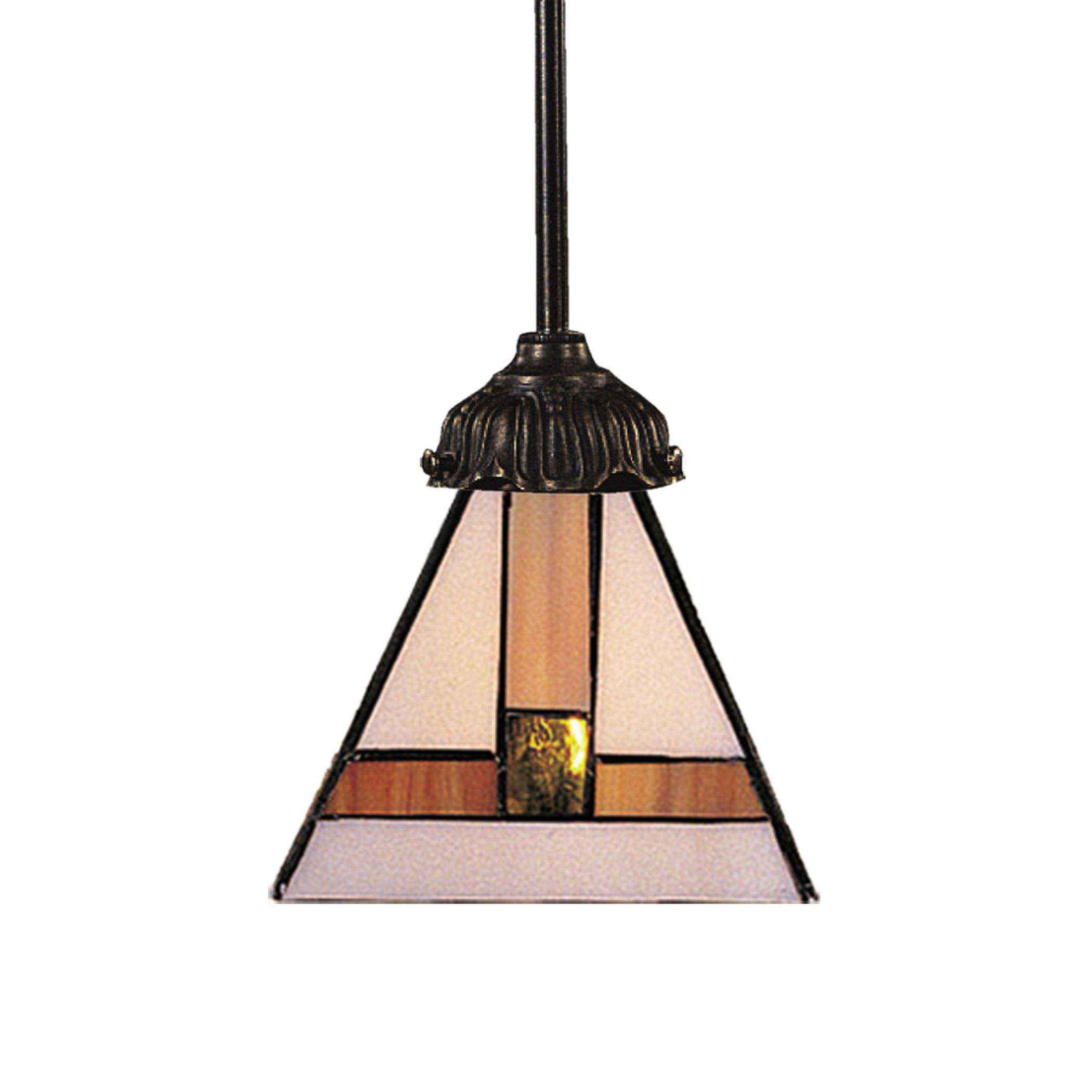Elk Lighting 078-TB-01 Mix-N-Match 1-Light Pendant In Tiffany Bronze
