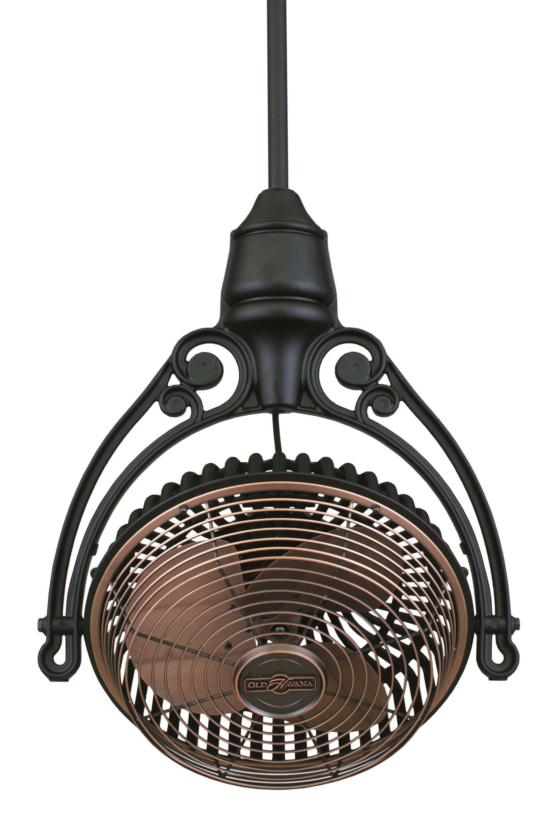 Fanimation Old Havana Ceiling Mount in Antique Copper