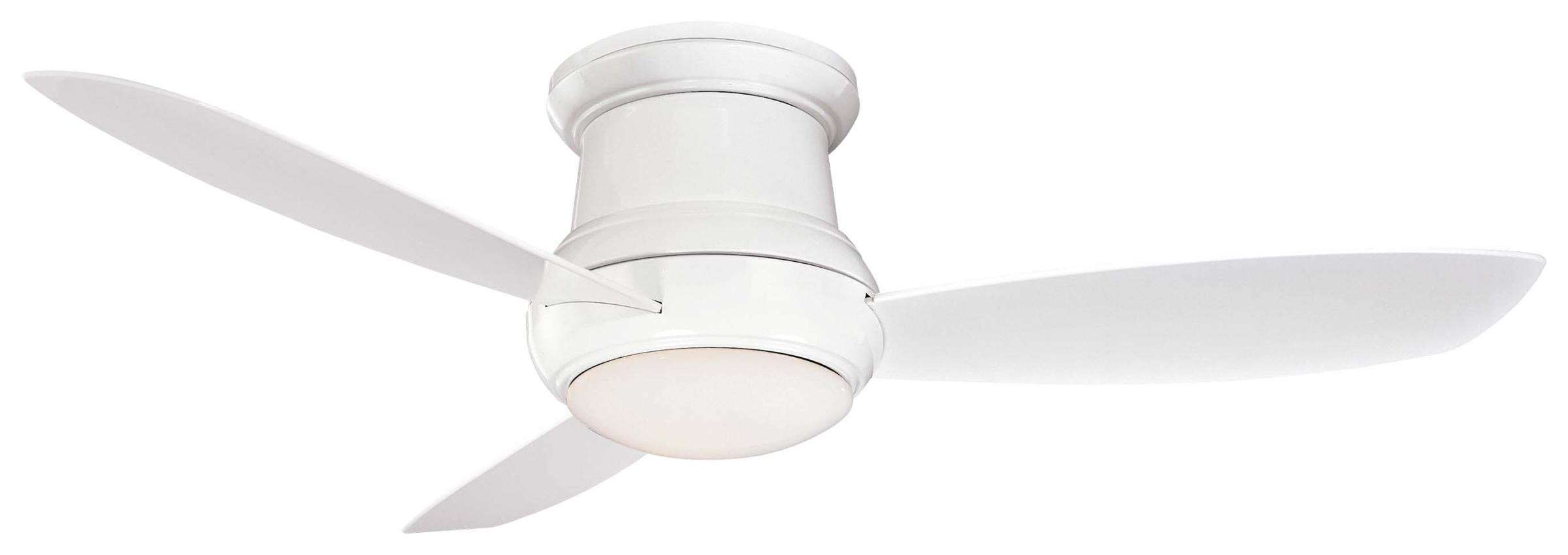 "Minka Aire 52"" Concept II LED Wet Indoor/Outdoor in White"