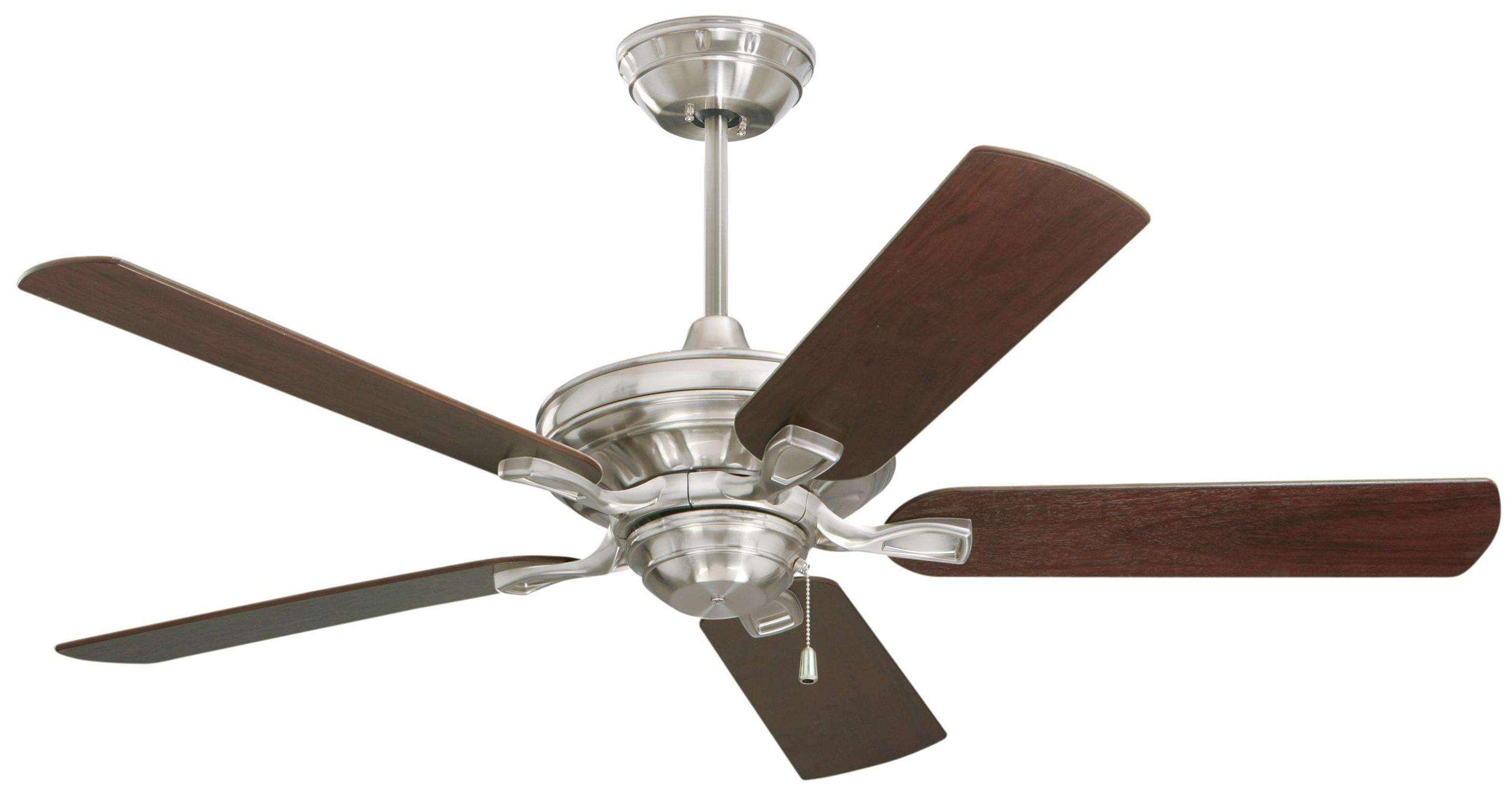"Emerson 52"" Carrera Bella ENERGY STAR in Brushed Steel"