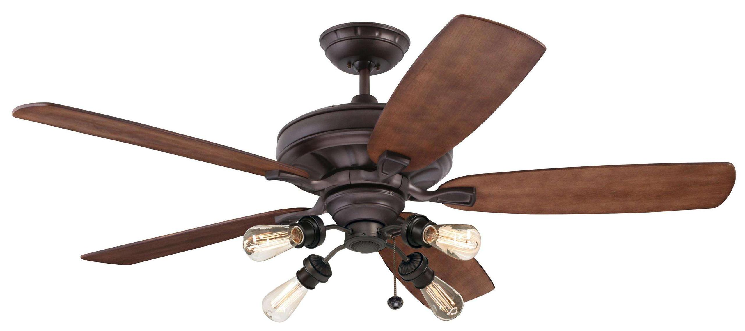 Emerson Carrera Grande Eco 60 (DC Motor) Ceiling Fan Model CF788ORB-B78WA-F440ORB-VB100ORB in Oil Rubbed Bronze
