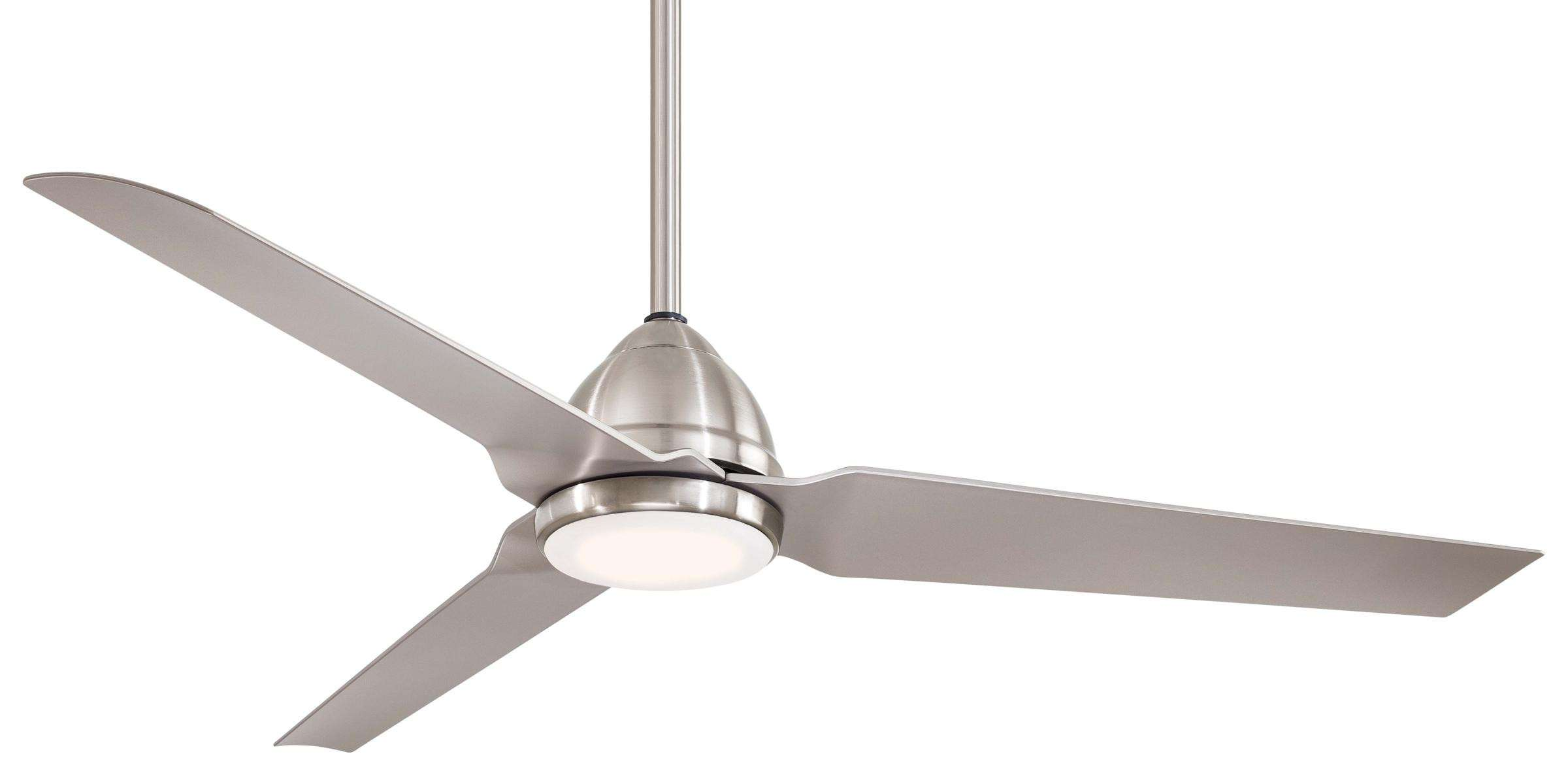 "Minka Aire 54"" Java LED in Brushed Nickel Wet"