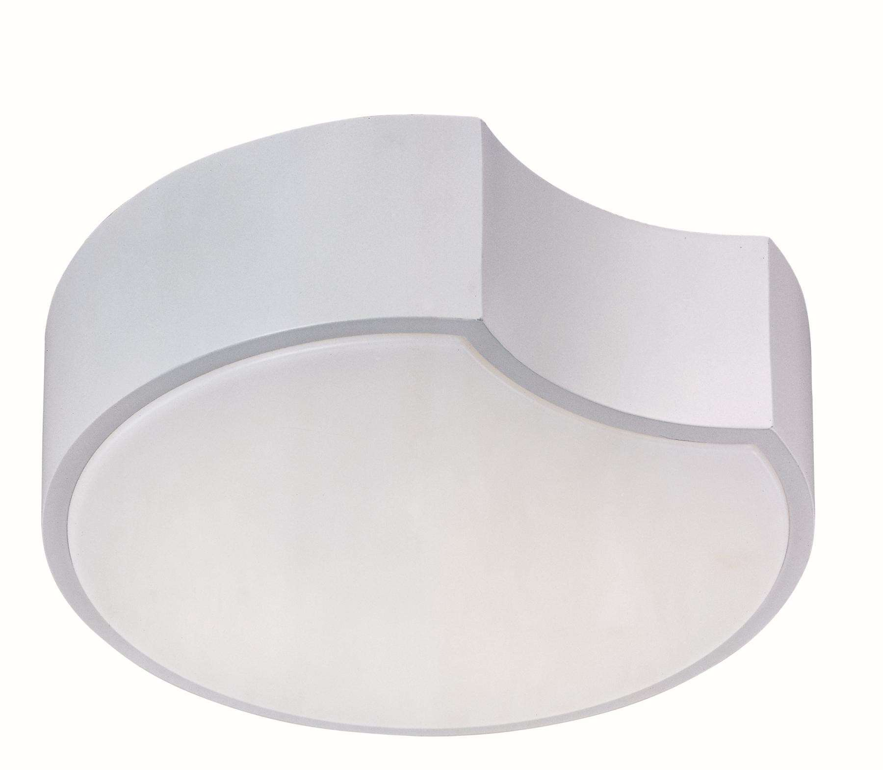 Cells LED-Flush Mount in Matte White