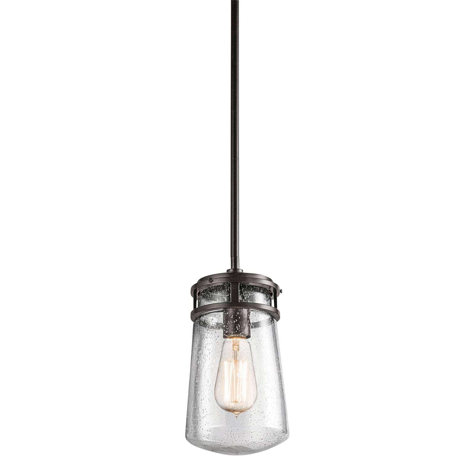 Lyndon - Outdoor Pendant 1Lt in Architectural Bronze Finish