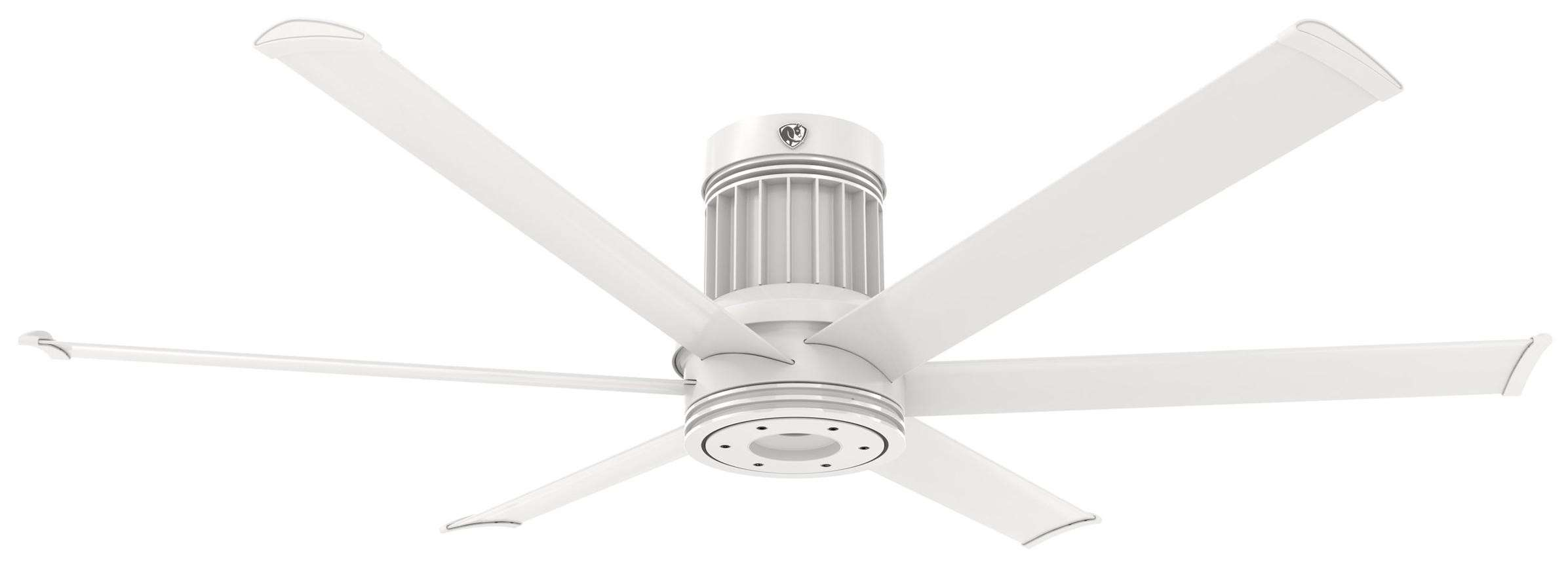 i6 60 Inch Flush Mount Outdoor in White