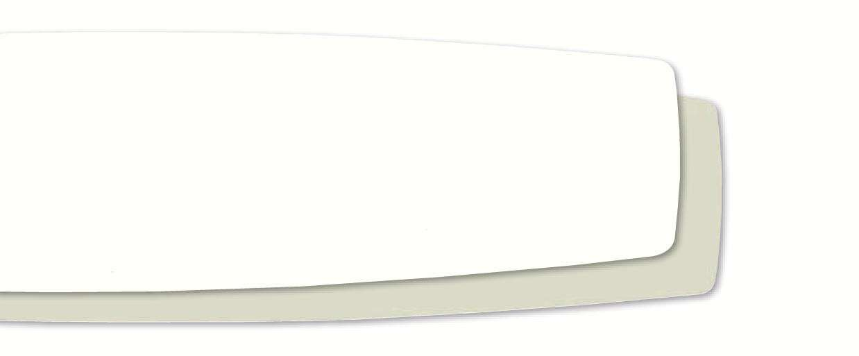 Casablanca CA-99005 Select Fan Blades Reversible Matte Snow White/Cottage White