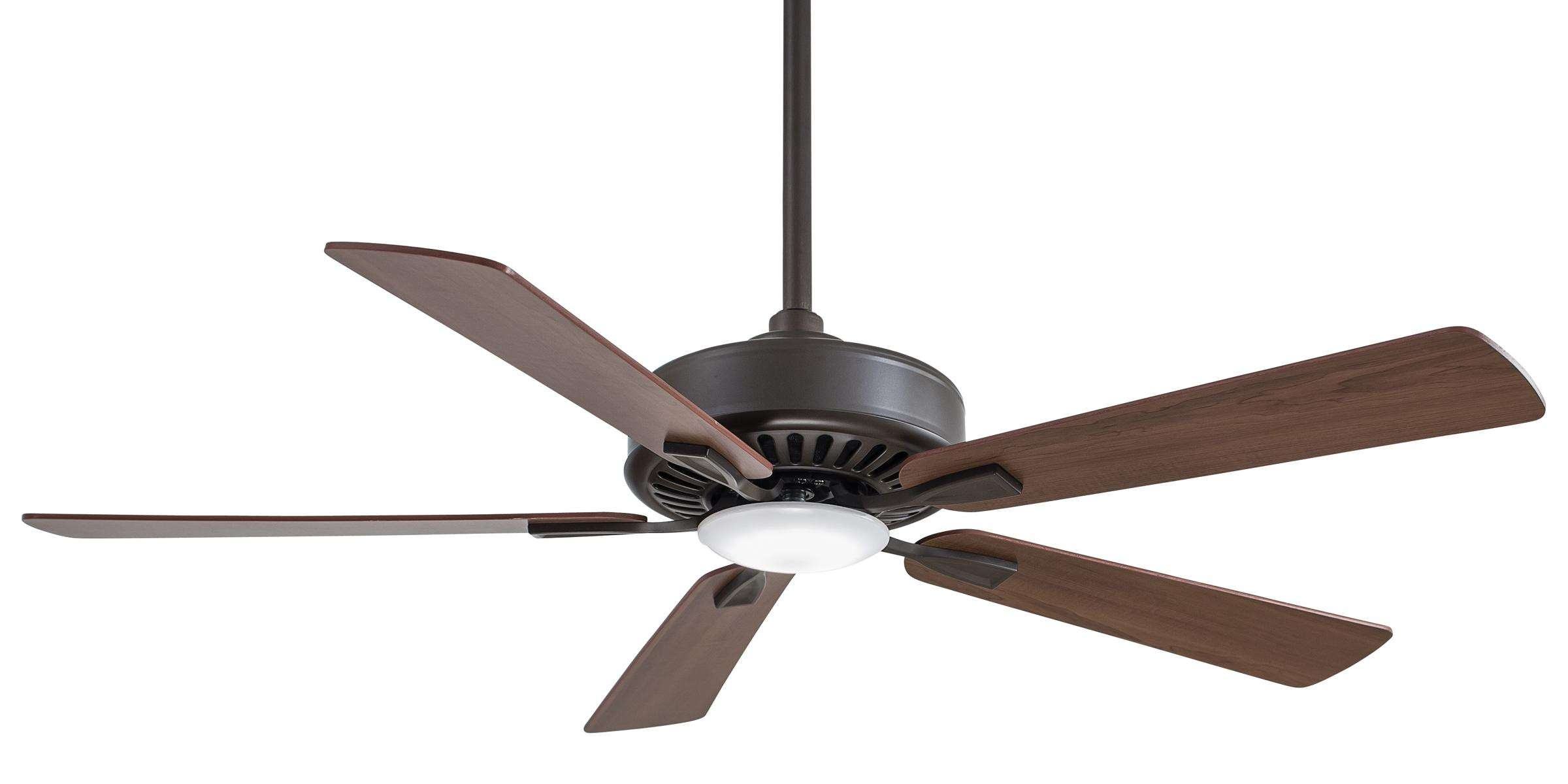 "Minka Aire 52"" Contractor Plus LED in Oil Rubbed Bronze"