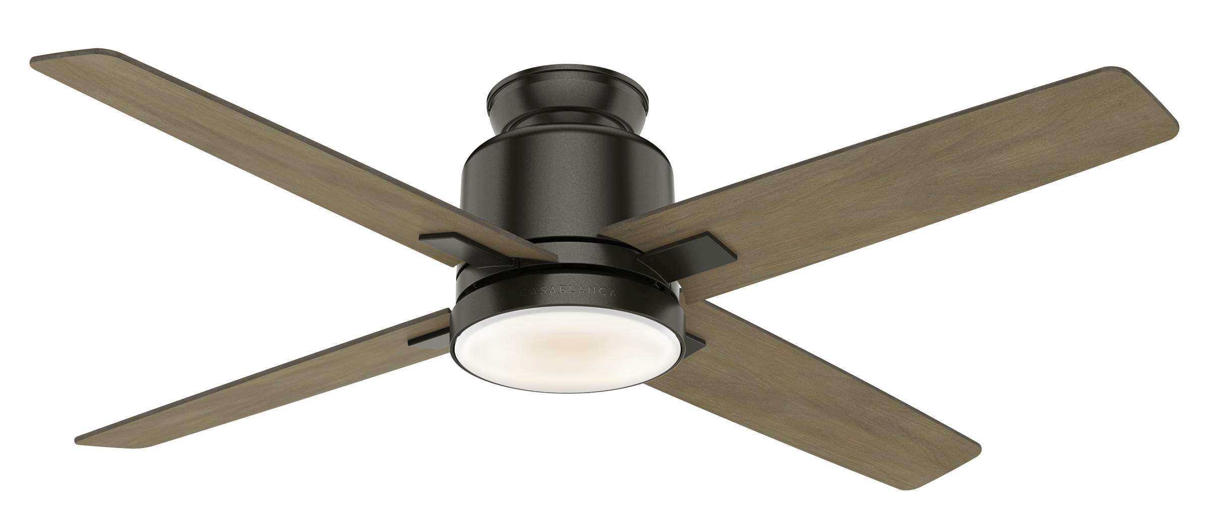 Casablanca 59341 Axial Ceiling Fan in Noble Bronze - Flush