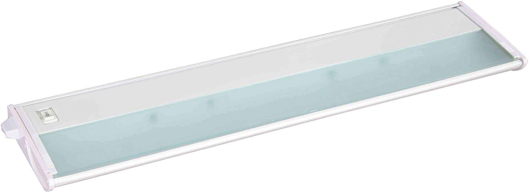 "Maxim 87842WT CounterMax MX-X120c 21"" 3-Light 120V Xenon in White."