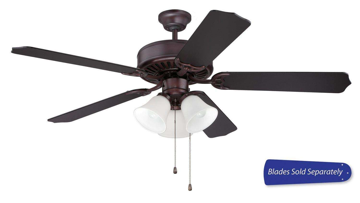 Craftmade Pro Builder 205 Ceiling Fan Model CF-C205OB in Oiled Bronze