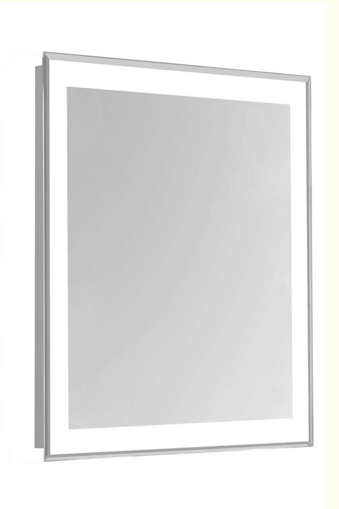 """4 Sides LED Edge Hardwired Mirror Rectangle W24""""H40"""" Dimmable 5000K"""