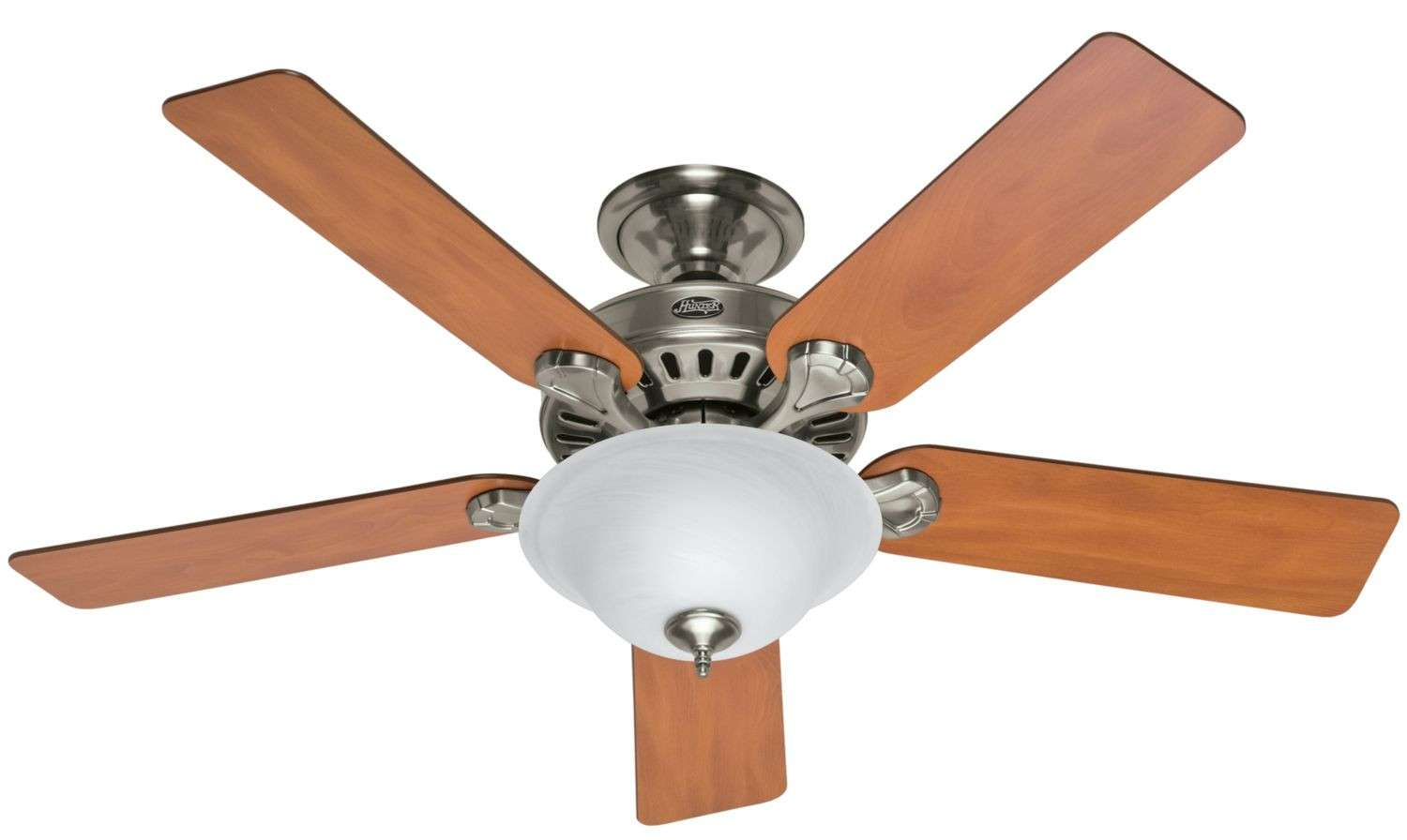 "Hunter 52"" Pros Best 5 Minute Fan in Brushed Nickel"