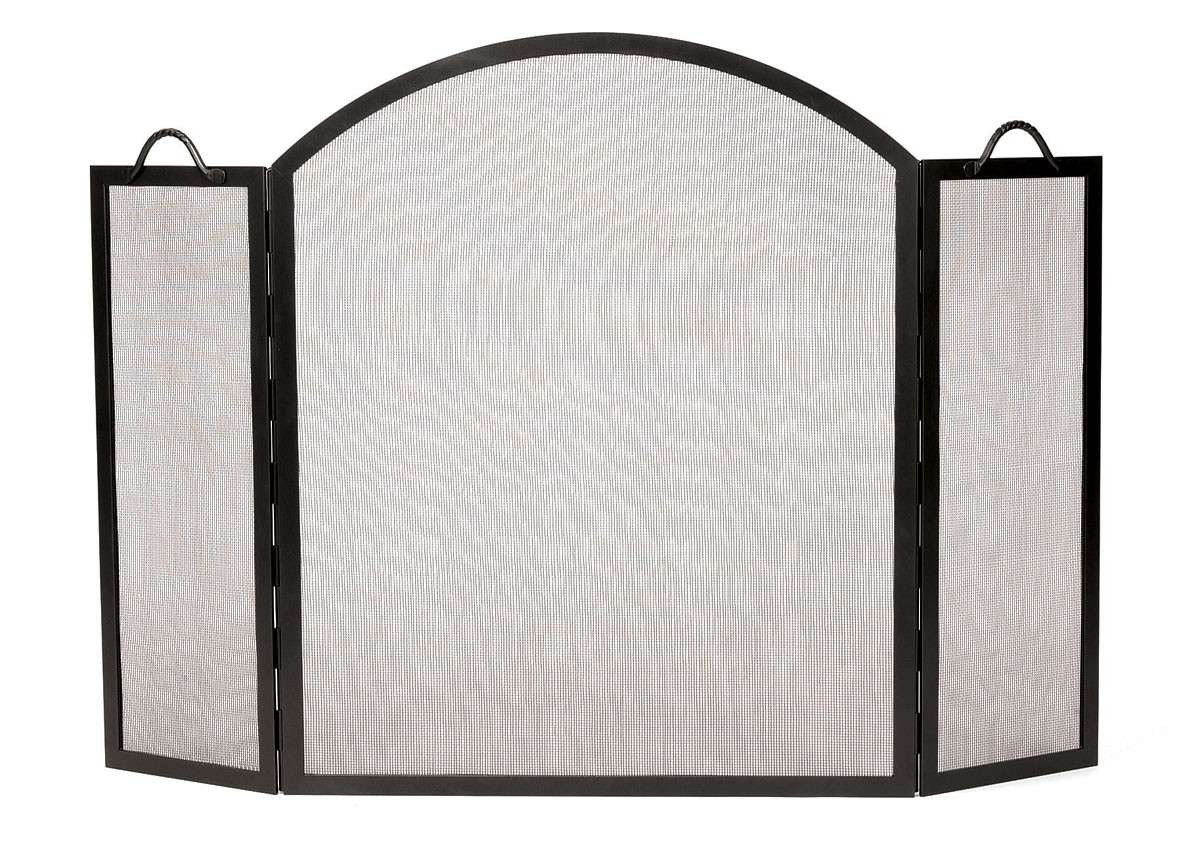 "Twisted Rope Screen With Arch - 52"" Wide x 35"" Tall"