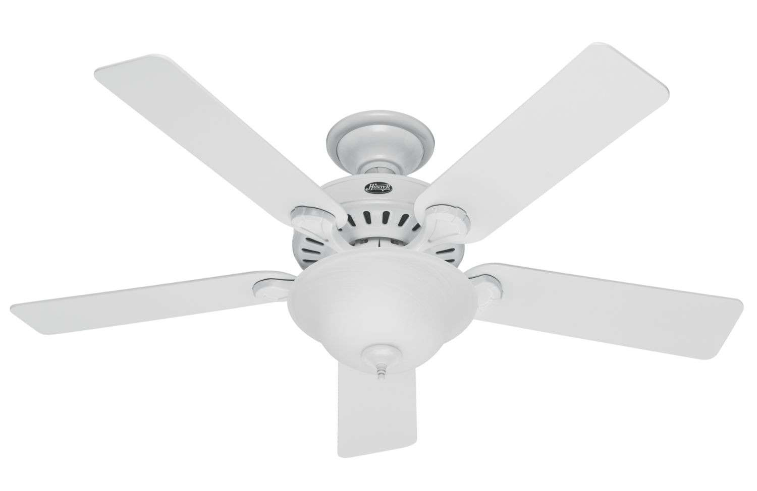 "Hunter 52"" Pros Best 5 Minute Fan in White"