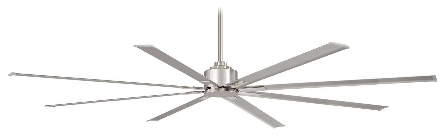 "Minka Aire F896-84-BNW 84"" Wet Rated Xtreme H2O Ceiling Fan Motor in Brushed Nickel"