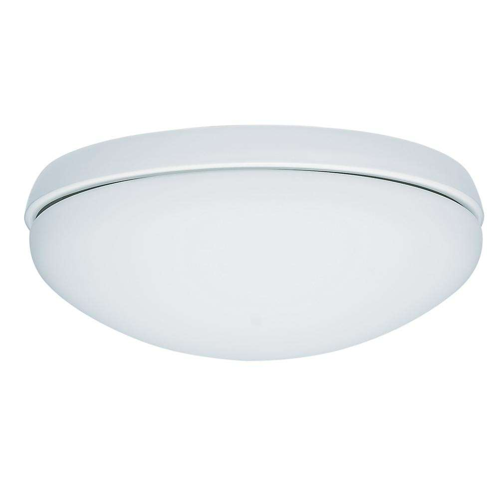 Hunter HU-99159 Single Globe White Ceiling Fan Light Fixture