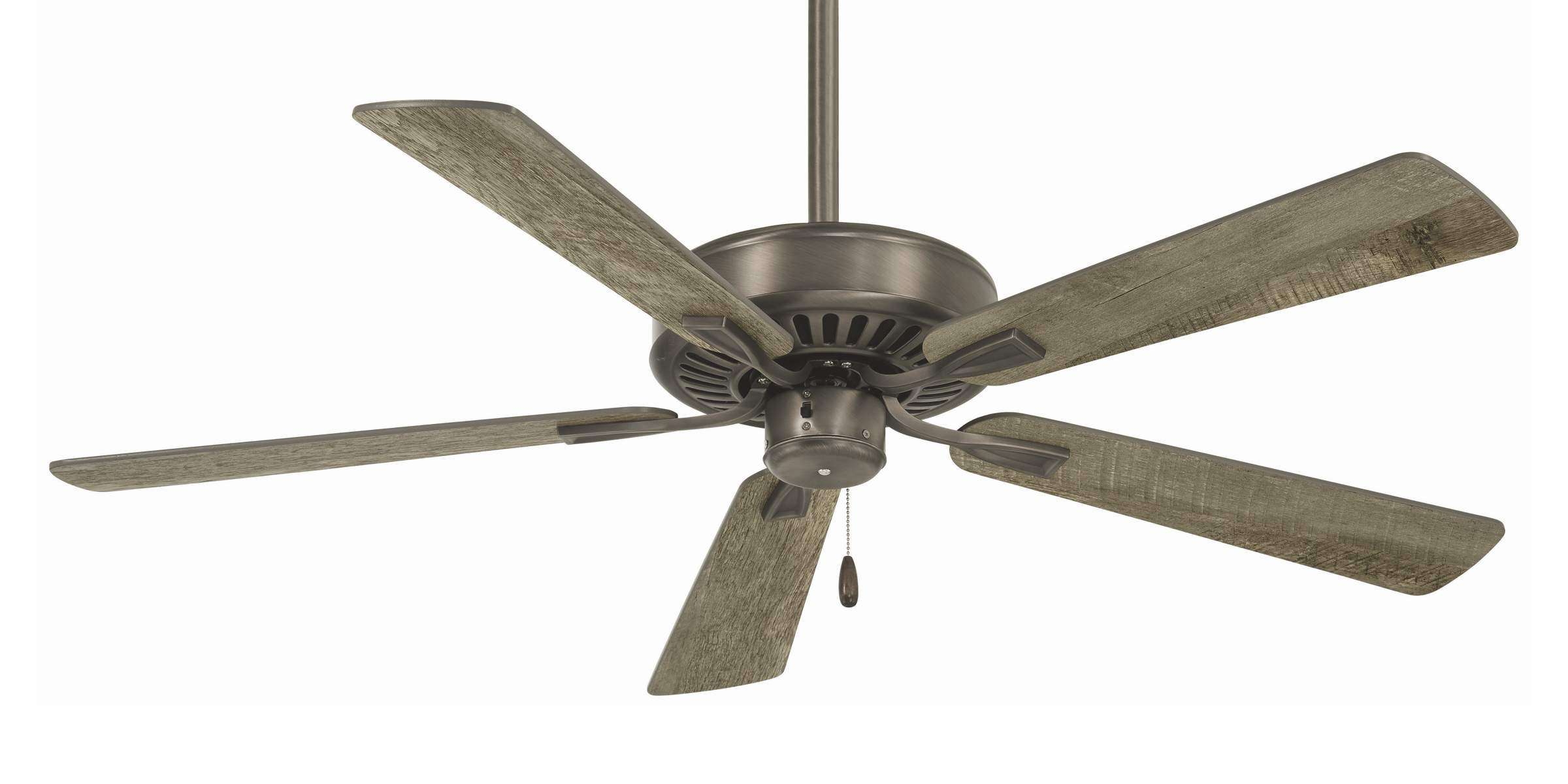 Minka Aire Contractor Plus Ceiling Fan Model F556-BNK in Burnished Nickel