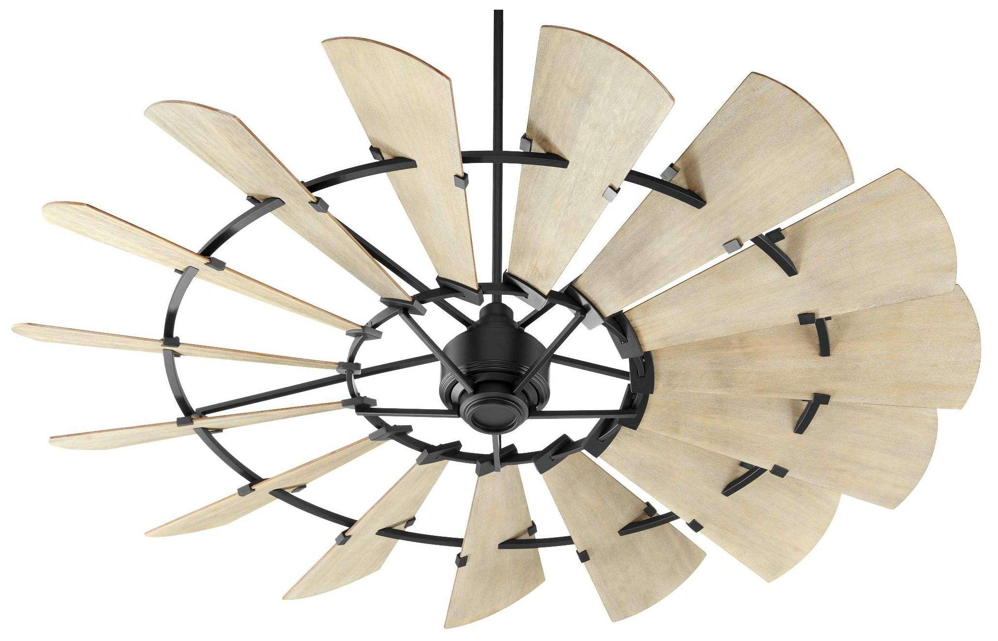Quorum Windmill Ceiling Fan Model 97215-69 in Noir Black