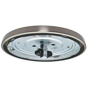 99080 Low Profile Fan Light Brushed Nickel