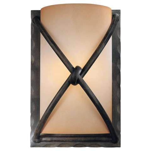 Minka Lavery Lighting 1974-1-138 1 Light Wall Sconce in Aspen Bronze. finish