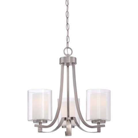 Parsons Studio 3 Light Chandelier