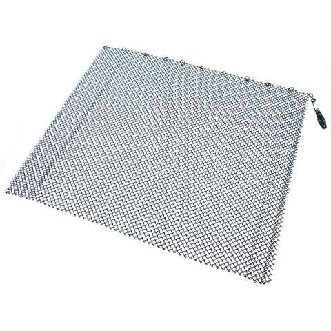 "Single Panel Black Replacement Mesh - 48"" Wide x 20"" Tall"