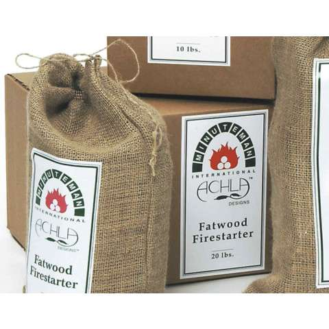 Fatwood Caddy Refill - 20 lb