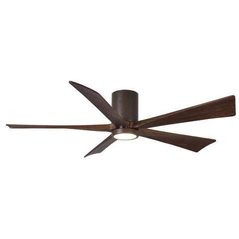 "Matthews 60"" Atlas Irene Hugger LED 5 Blade in Textured Bronze"