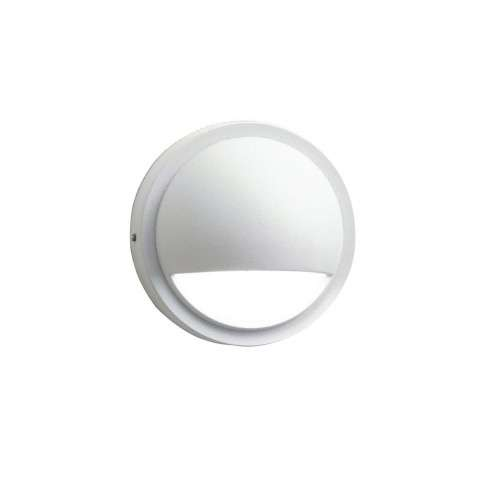 Utilitarian Landscape - Half Moon Led Deck Light in White