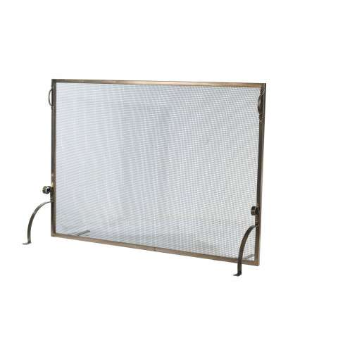 "Simple Fireplace Screen - 60"" Wide x 42"" Tall"