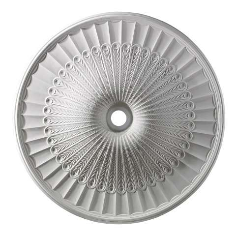 Elk Lighting M1017WH Hillspire Medallion 51 Inch In White Finish