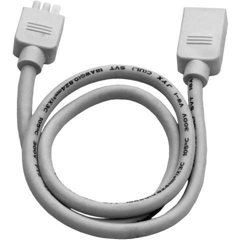 "Maxim 87858WT CounterMax MXInterLink3 24"" Inter-link Cord in White."