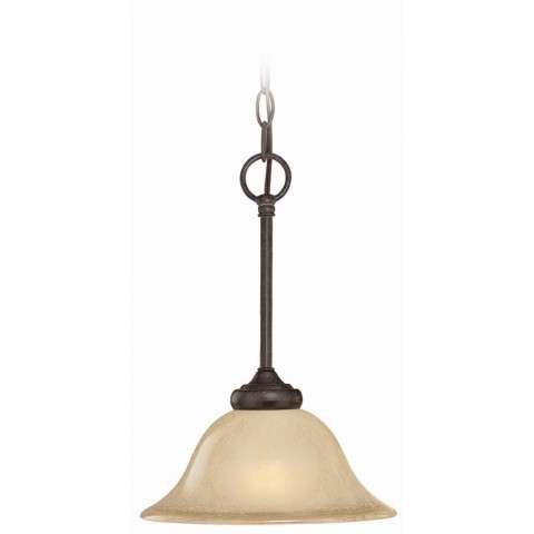 Craftmade Exteriors Stanton - English Toffee 1 Light Mini Pendant in English Toffee