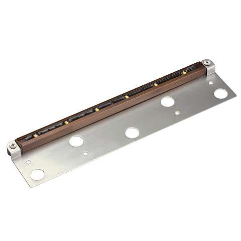 6 LED with Bracket in Bronzed Brass