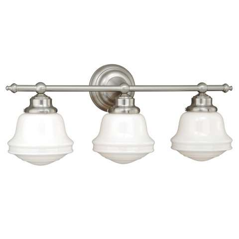 Huntley 3L Vanity Satin Nickel