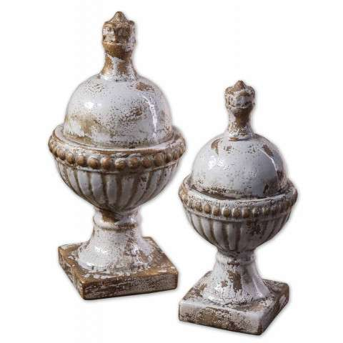 Uttermost 19231 Sini - Finials - Set of 2