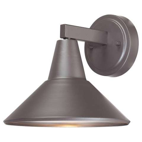 The Great Outdoors 1 Light Wall Mount In Dorian Bronze™ (Aluminum Const.) Finish