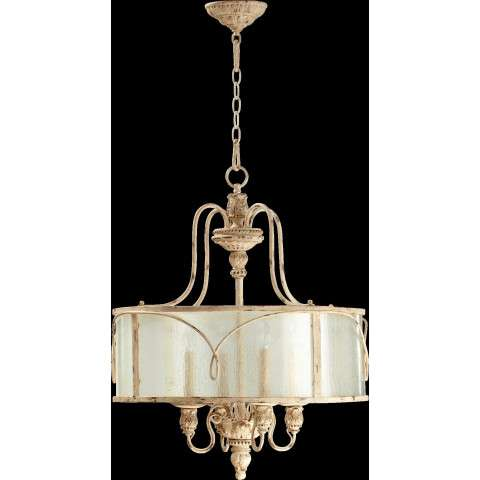 Salento 4 Light Pendant in Persian White