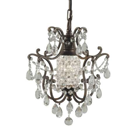 Murray Feiss F1879/1BRB Maison De Ville Chandelier - Mini Duo in British Bronze finish