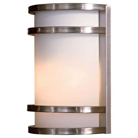 Minka Lavery Lighting 9801-144 1 Light Pocket Lantern in Stainless Steel finish