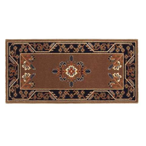 Jardin Hearth Rug - Rectangular - Cocoa