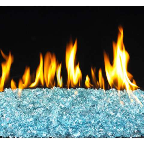 Azuria Fireplace Glass Crystals - 7.5lb bag