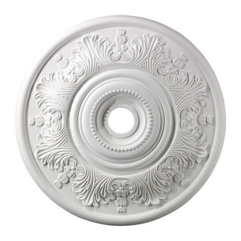 Elk Lighting M1014WH Lauerdale Medallion 30 Inch In White Finish