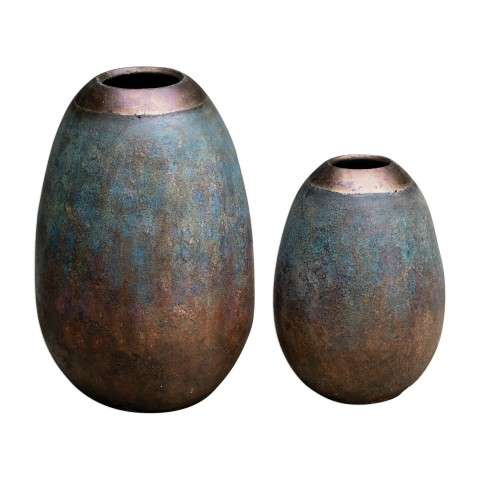 Pavak Etruscan Sky Vases S/2