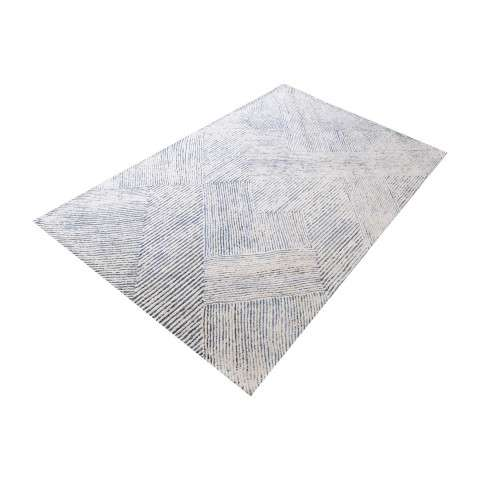 Vaugham Handtufted Wool And Denim Fabric Rug - 3ft x 5ft